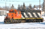CN 4712 on the shop track