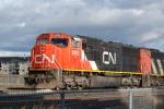 SD75I near Alberta Terminals Ltd.