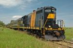 APR GP9 7438 (ex CWR) leading a long train near stettler