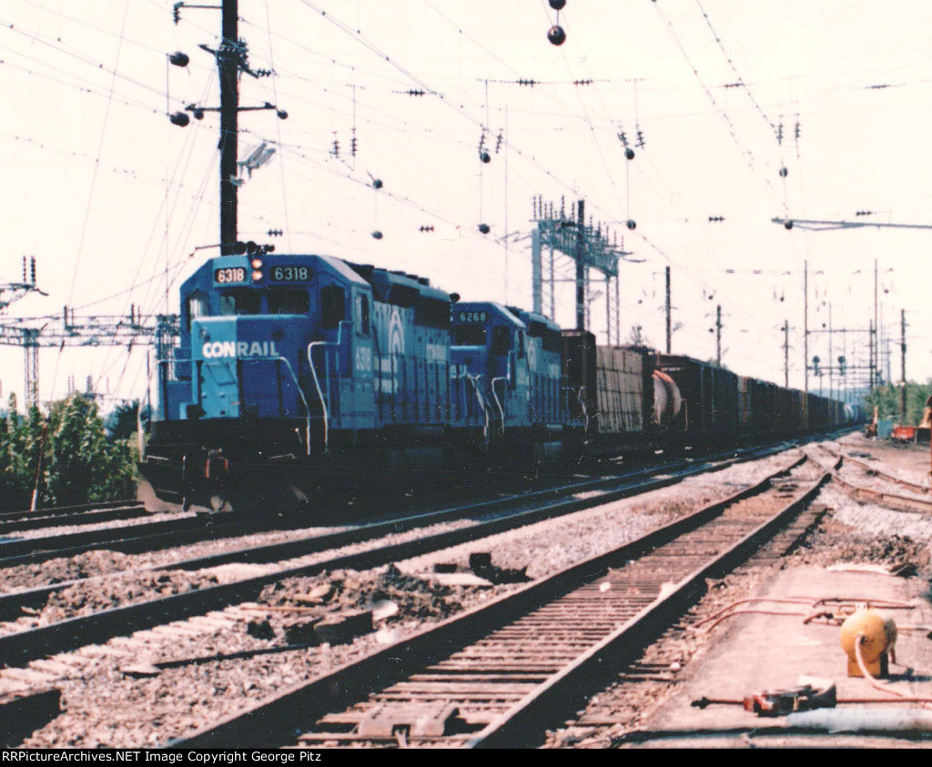 Through freight at Perryville