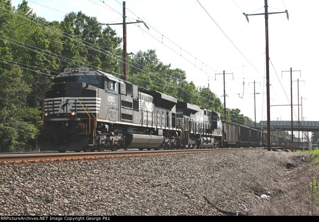 NS coal train 592