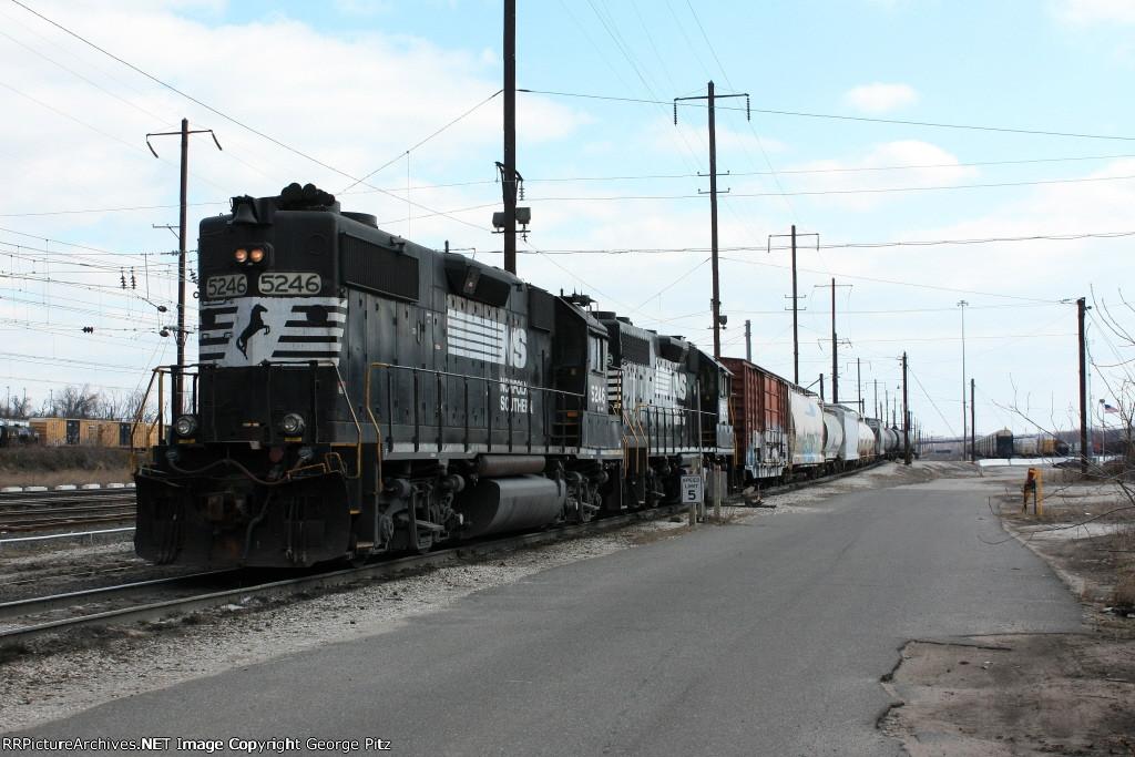 NS 5246 shifting cars
