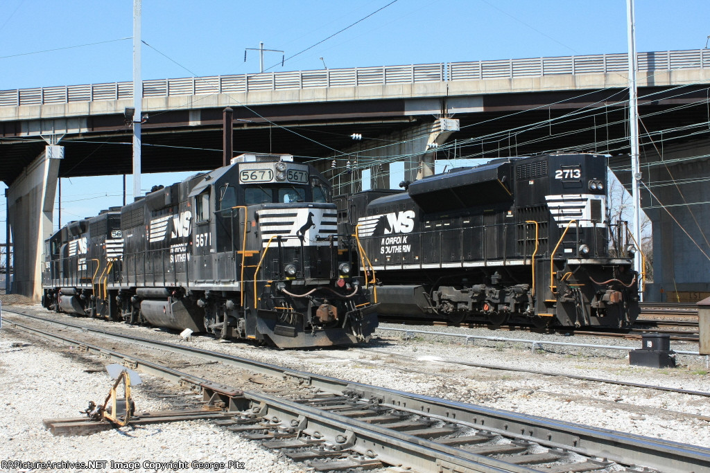 NS 5671 and 2713