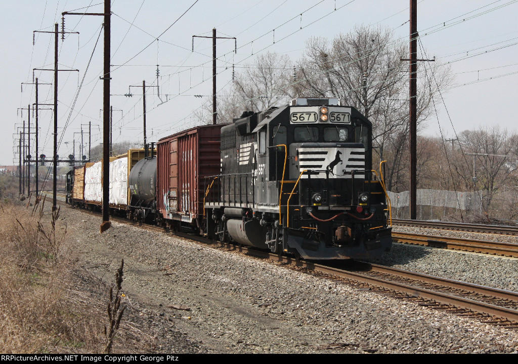 NS 5671 at Middle River, MD