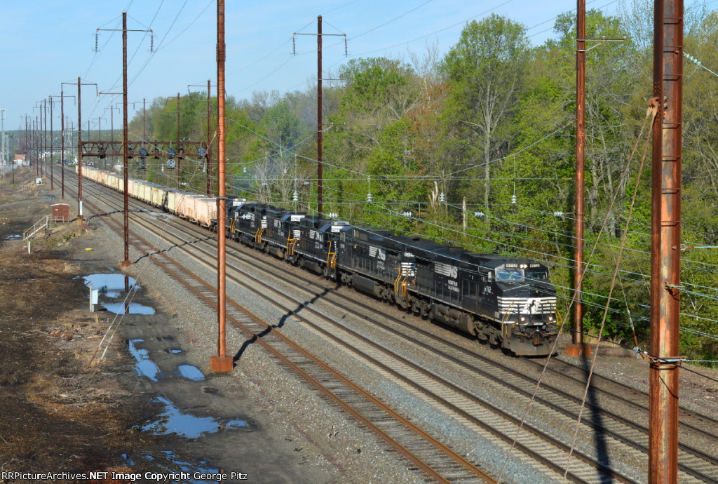 NS 9712 and train 12G