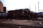 Conrail 6112 at Orangeville