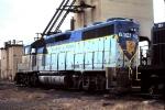 D&H 7604 at Orangeville enginehouse