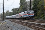 Equipment for the 2017 Amtrak Autumn Express