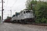Amtrak ballast train