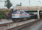 Amtrak F40 258 at Baltimore