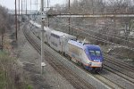 MARC train 523(7) at Chesaco Park, MD