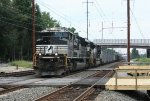 NS 1023 and loaded coal train 650