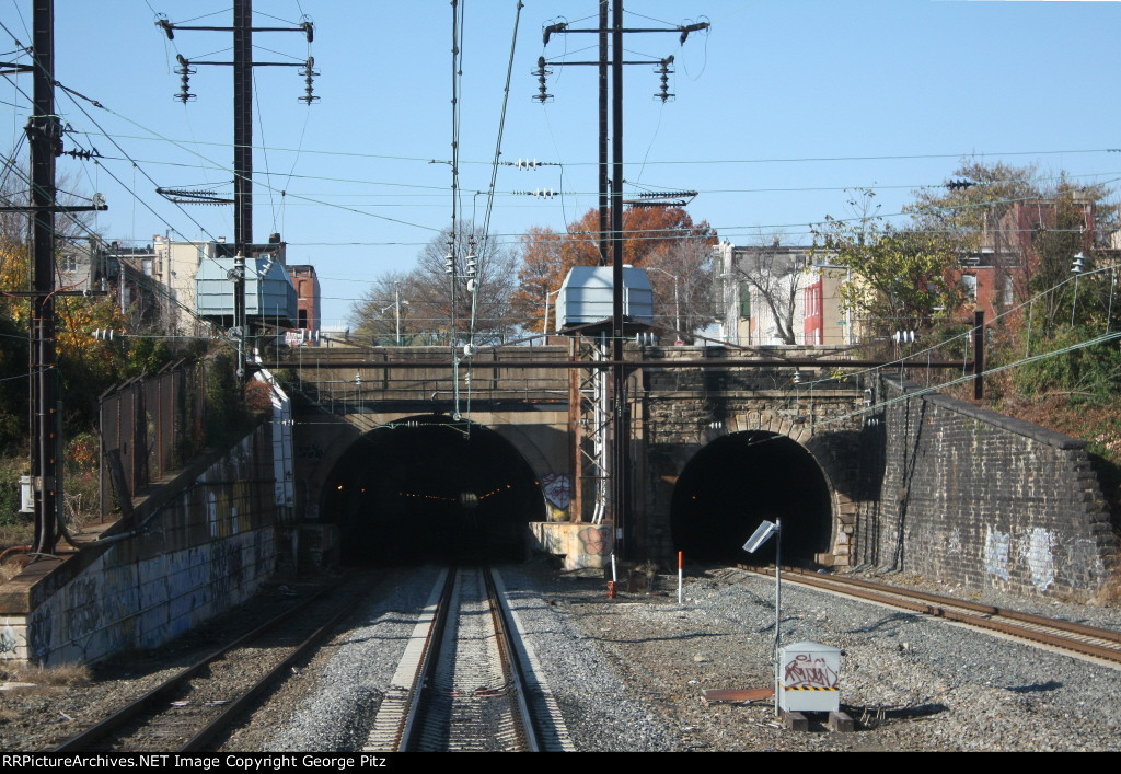 Union tunnels at Baltimore