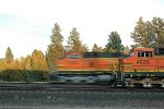 BNSF 5106 and 4035
