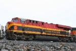 KCS 4681 on the BNSF