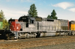 SSW 8324 on the BNSF