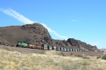 BNSF garbage train