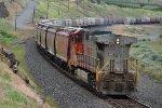 BNSF 4707 Grain DPU