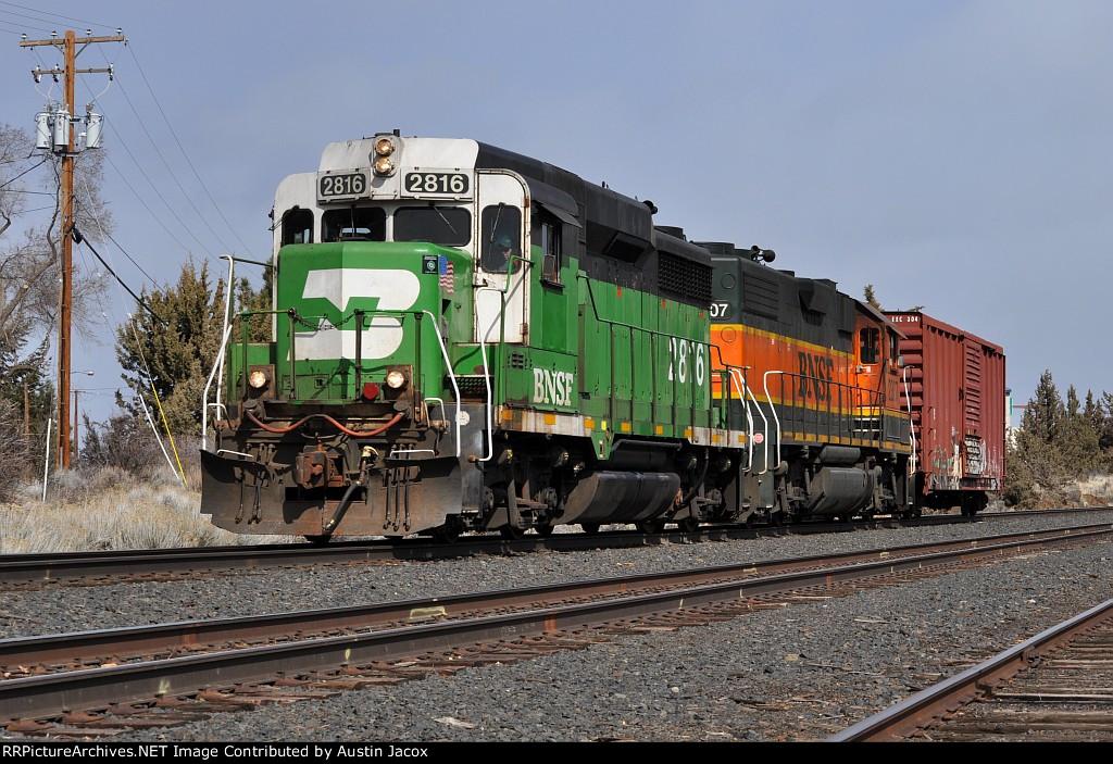 BNSF 2816