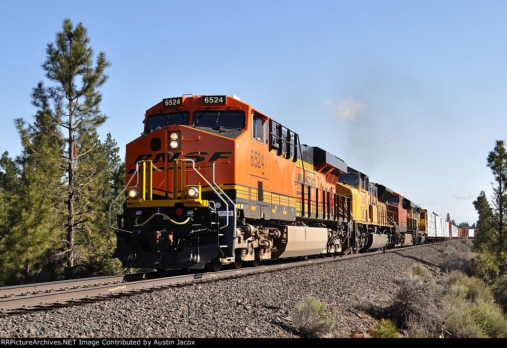 BNSF 6524