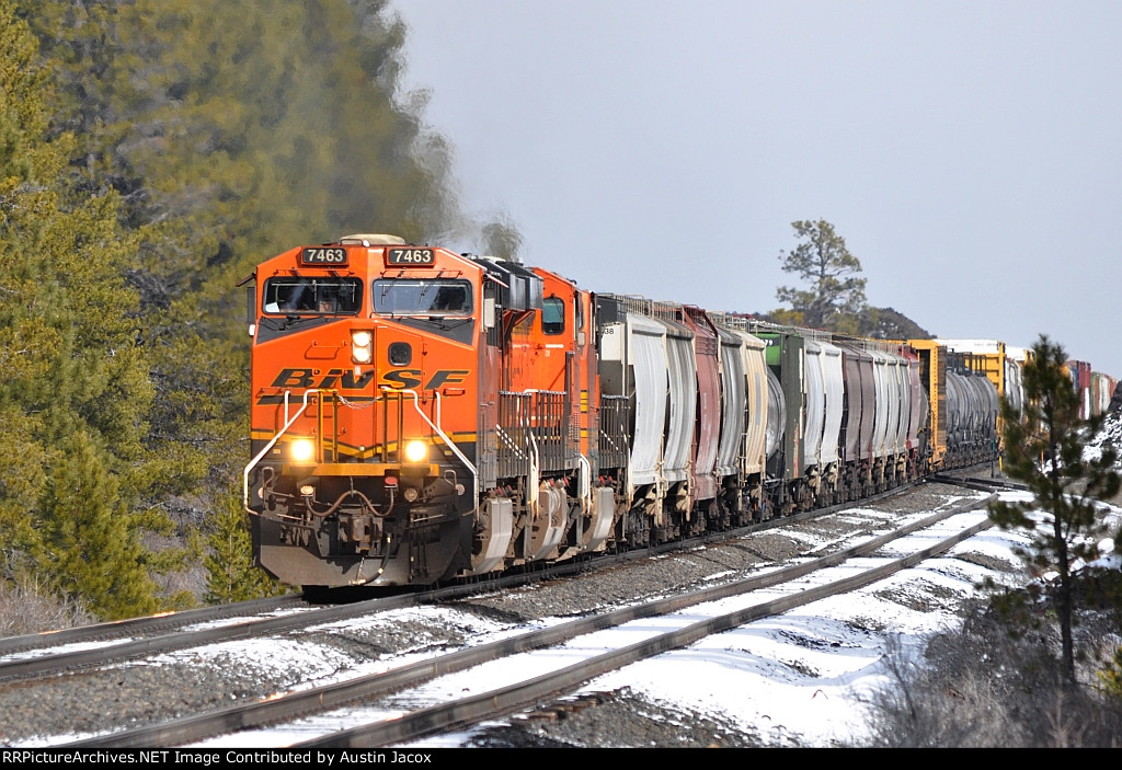 BNSF 7463