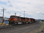 BNSF 968 Parked