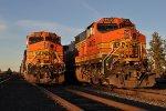 BNSF 4656 & BNSF 4405