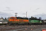 BNSF 2307 & 2870