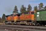 BNSF 5241 & 5079 DPUs