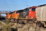 CN 2615, BNSF 4622. BNSF 5355
