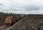 Southbound BNSF 5519