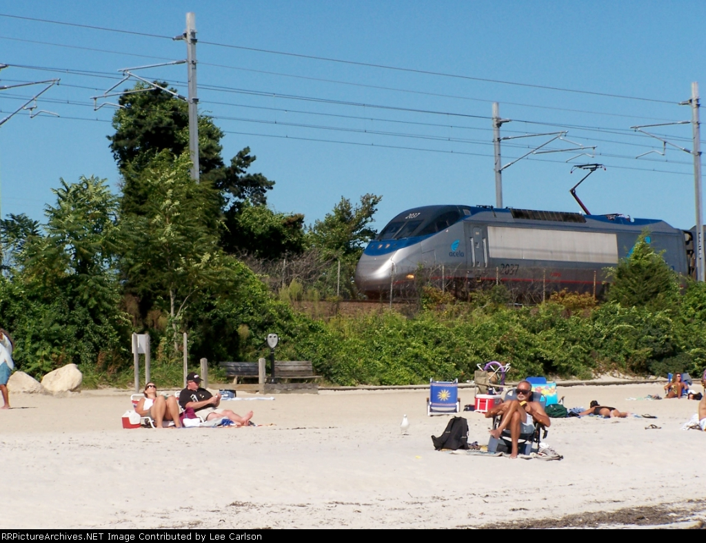 Acela at Rocky Neck