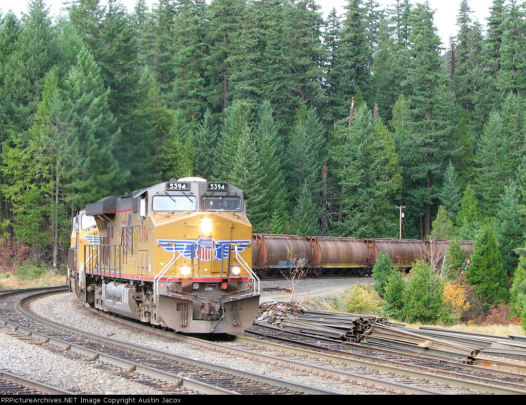 UP 5394 Southbound