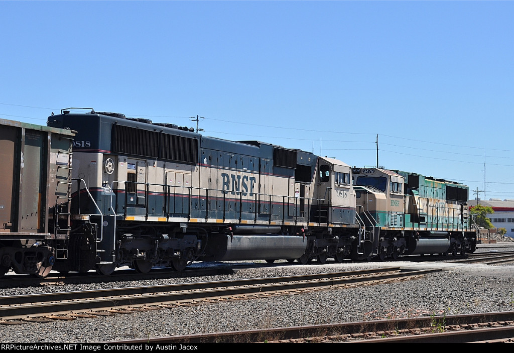 BNSF 9818 & 9478