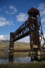 Clearwater River Lift Bridge