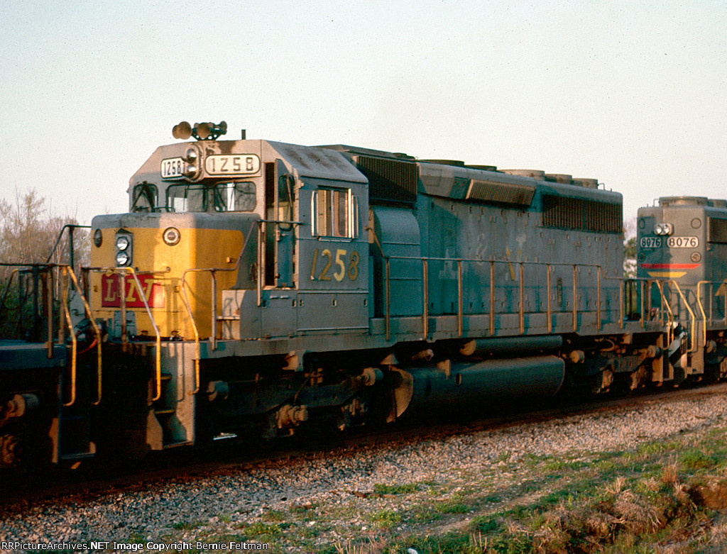 Louisville & Nashville SD40 #1258