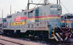 Seaboard System GP7 #2353 the Tilford Yard Service Center