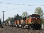 BNSF 4786 Garbage train