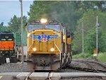 UP 5087 Garbage train