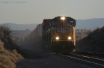UP 3844 Kicks Up Some Dust in the Mojave Desert