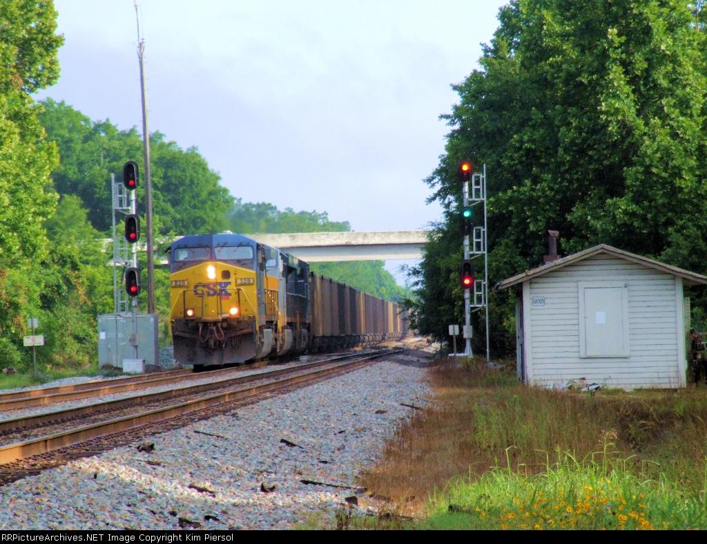 CSX 528 Coal Drag