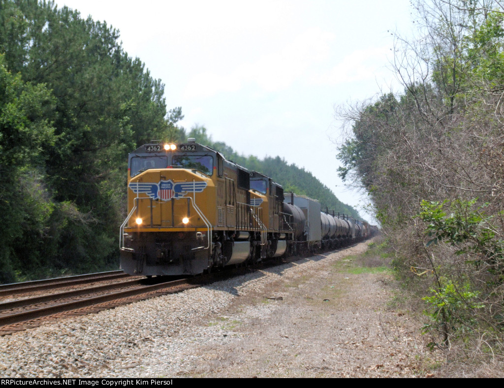 UP 4362 & UP 4130 CSX Train Q606