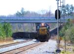 CSX 8637 Work Train