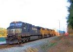 NS 9295 UP 4643 UP 8624 NS Train 210