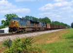 CSX 756 NB Empty Coal