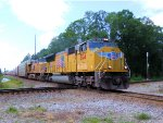 UP 5174 CSX Q606 at the Diamond With the NS