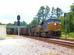 CSX 895 Q112 Coal Empties