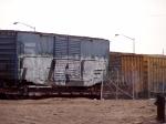 Boxcar on Flatcar