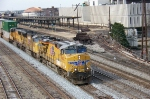 UP 7642 leads northbound NS 226