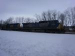 CSX Freight In Westfeild NY